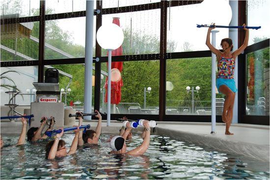 Bild von Wassergymnastik