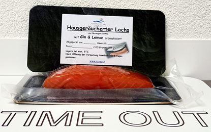 Bild von Rauchlachs Gin&Lemon 100 Gramm